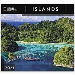 Kalendarz Wyspy National Geographic Islands 2021 Wall Calendar