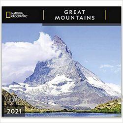Kalendarz National Geographic Great Mountains 2021 Wall Calendar