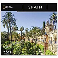 Kalendarz Hiszpania National Geographic Spain 2021 Wall Calendar