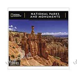 Kalendarz National Geographic National Parks & Monuments 2021 Wall Calendar