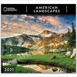 Kalendarz National Geographic American Landscapes 2021 Wall Calendar