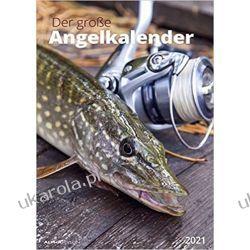Kalendarz Wędkarstwo The big fishing calendar 2021 Kalendarze ścienne