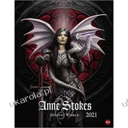 Kalendarz Anne Stokes Mystic World 2021 Calendar Książki i Komiksy