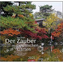 Kalendarz The Magic of Japanese Gardens Calendar 2021 Książki i Komiksy