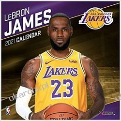 Kalendarz Los Angeles Lakers Lebron James 2021 Calendar NBA