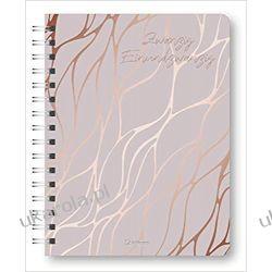 Kalendarz książkowy Glamour Planner Marbel Rosé 2021 - Diary Książki i Komiksy