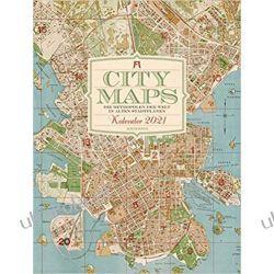 Kalendarz City Maps 2021 Calendar mapy Kalendarze ścienne