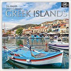 Kalendarz Greek Islands 2021 Calendar  Kalendarze ścienne