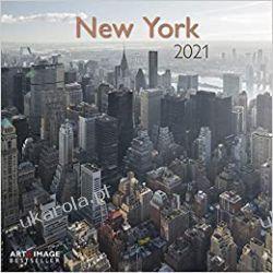 New York 2021 Calendar  Kalendarze ścienne