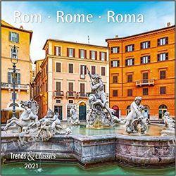 Rom Rome 2021 Calendar Rzym Kalendarze ścienne