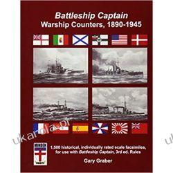 Battleship Captain Warship Counters, 1890-1945 Historyczne