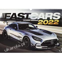 Fast Cars 2022 Calendar The ultimate car calendar  Gadżety i akcesoria