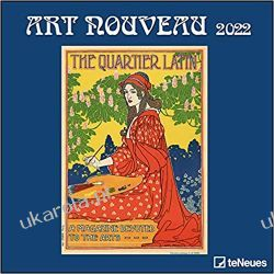 Kalendarz Art Nouveau 2022 Calendar sztuka Kalendarze ścienne