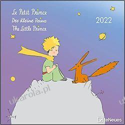Der Kleine Prinz 2022 - Wand-Kalender - Broschüren-Kalender - 30x30 - 30x60 geöffnet - Kinder-Kalender - Illustrationen: Le Petit Prince: Le Petit Prince / The Little Prince Kalendarze ścienne