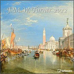 Kalendarz J.M.W. Turner 2022 Calendar Biografie, wspomnienia