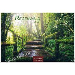 Las deszczowy Regenwald 2022 L 35x50cm Kalendarz Rainforest Calendar