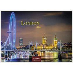 Londyn London 2022 L 35x50cm Kalendarz