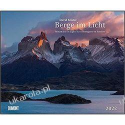 Kalendarz Góry Mountains in Light 2022 Calendar 58.4 x 48.5 cm