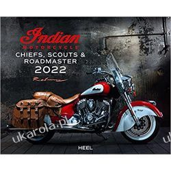 Kalendarz z motorami Indian Motorcycle 2022 Chiefs, Scouts & Roadmaster Calendar