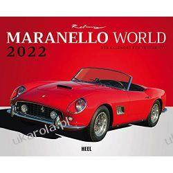 Kalendarz Maranello World 2022 Calendar Ferrari cars