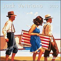 Kalendarz Jack Vettriano 2022 30x30 Kalendarze książkowe