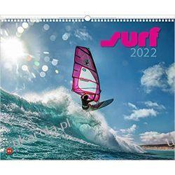 Kalendarz Surf 2022 Calendar surfowanie Albumy o modzie