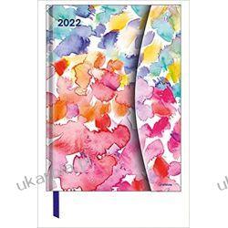 Kalendarz Watercolours 2022 16x22 Magneto Diary Calendar Kalendarze książkowe