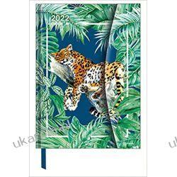 Kalendarz Jungle 2022 16x22 Magneto Diary calendar Kalendarze książkowe