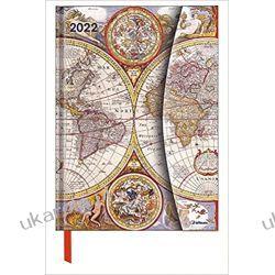 Kalendarz antyczne mapy Antique Maps 2022 16x22 Magneto Diary calendar Kalendarze książkowe