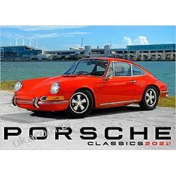 Kalendarz Porsche Classics 2022 Calendar klasyczne samochody Kalendarze książkowe