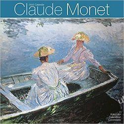 Kalendarz Claude Monet 2022 30x30 calendar Książki i Komiksy