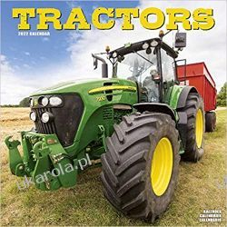 Kalendarz ciągniki Tractors – Traktoren 2022 calendar Książki i Komiksy