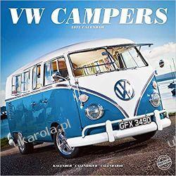 Kalendarz Volkswagen Campers – VW Transporter – VW Camper 2022 calendar Książki i Komiksy