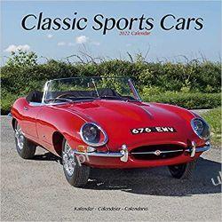 Classic Sports Cars - Sportwagen-Oldtimer 2022 calendar Kalendarze ścienne