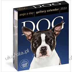Kalendarz biurkowy Psy Dog Page-A-Day Gallery Calendar 2022 Pozostałe