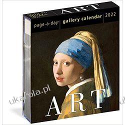 Kalendarz biurkowy sztuka Art Page-A-Day Gallery Calendar 2022 Pozostałe