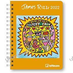 Kalendarz książkowy  James Rizzi 2022 - Diary 16,5x21,6 Calendar Pozostałe