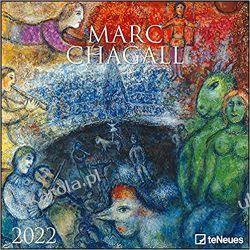Kalendarz Marc Chagall 2022 30x30 Calendar Książki i Komiksy