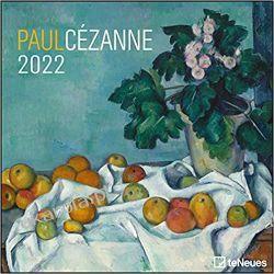 Kalendarz Paul Cezanne 2022 Calendar Książki i Komiksy