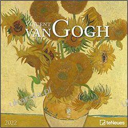 Kalendarz Vincent van Gogh 2022 calendar Książki i Komiksy