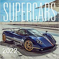 Supercars 2022 Calendar Książki i Komiksy