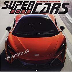 Kalendarz SuperCars 2022 Calendar  Książki i Komiksy
