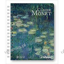 Kalendarz książkowy Claude Monet 2022 Diary 16,5x21,6 calendar Książki i Komiksy