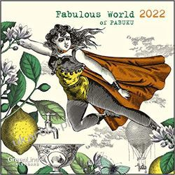 GreenLine Fabulous World of PABUKU 2022 calendar Książki i Komiksy