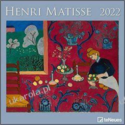 Kalendarz Henri Matisse 2022 calendar Książki i Komiksy