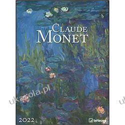 Kalendarz Claude Monet 2022 Calendar teneues  Książki i Komiksy
