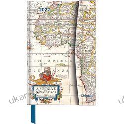 Antique Maps 2022 - Diary - Buchkalender - Taschenkalender - 10x15: Magneto Diary calendar Książki i Komiksy