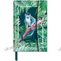 Jungle 2022 - Diary - Buchkalender - Taschenkalender - 10x15 Magneto Diary calendar Książki i Komiksy