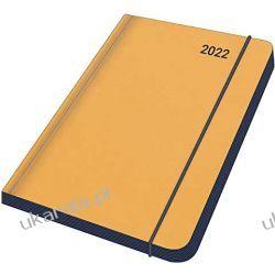 BLACK 2022 - Diary - Buchkalender - Taschenkalender - 12x17 Midi Flexi Diary ColourLine calendar Książki i Komiksy