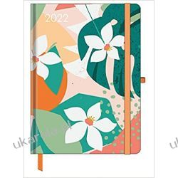 Kalendarz książkowy GreenLine Diary Floral 2022 16x22 Calendar  Książki i Komiksy